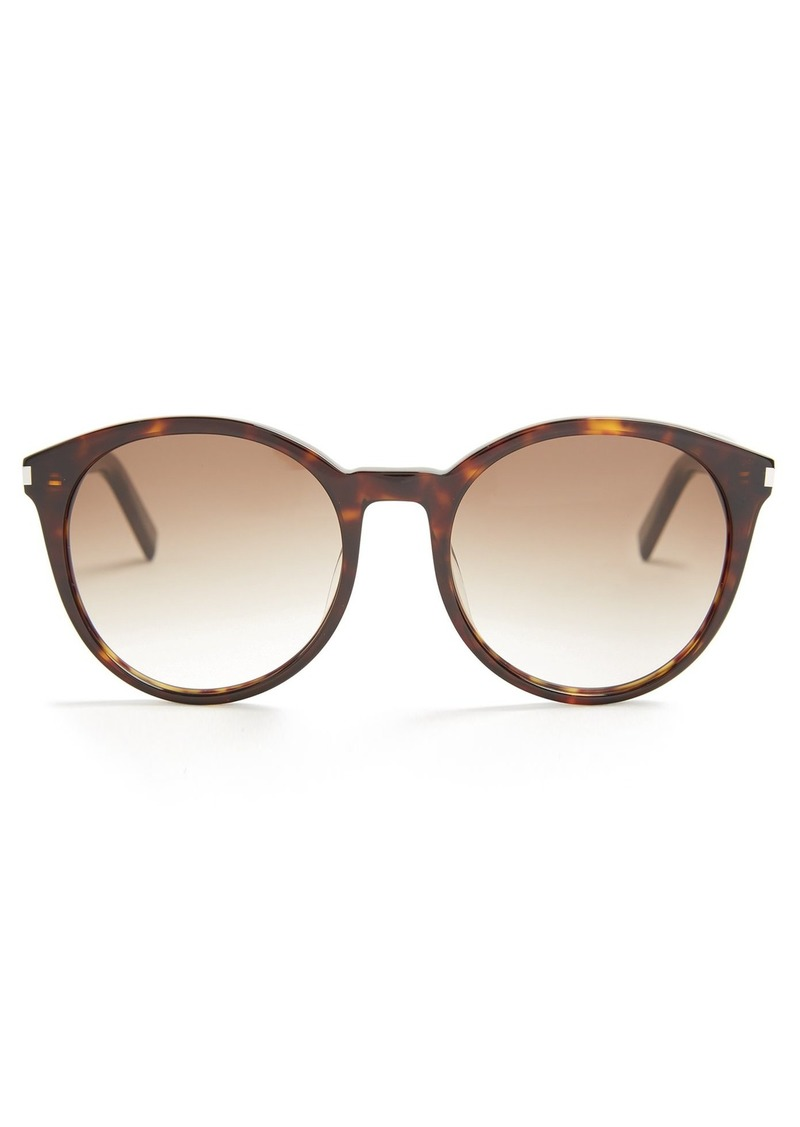 a838ced54a8 Saint Laurent Saint Laurent Classic round-frame acetate sunglasses ...