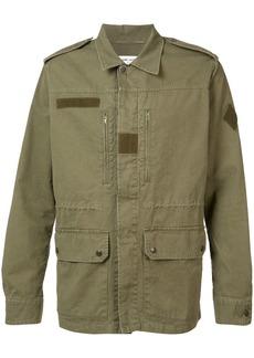 Yves Saint Laurent collared military jacket