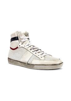 Yves Saint Laurent Saint Laurent Court Classic High Top Sneakers