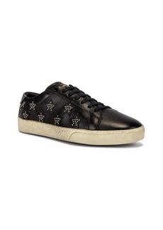 Yves Saint Laurent Saint Laurent Court Classic Studded California Sneakers