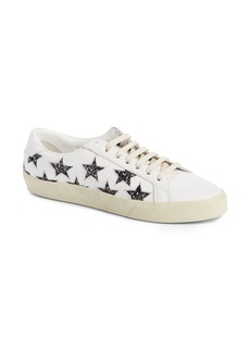 Saint Laurent Court Classics Stars Sneaker (Women)