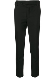 Saint Laurent crossover belt Le Smoking trousers - Black