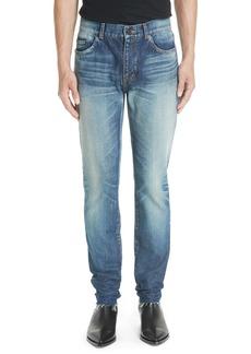 Yves Saint Laurent Saint Laurent Cutoff Skinny Jeans