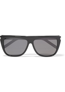 Yves Saint Laurent D-Frame acetate sunglasses