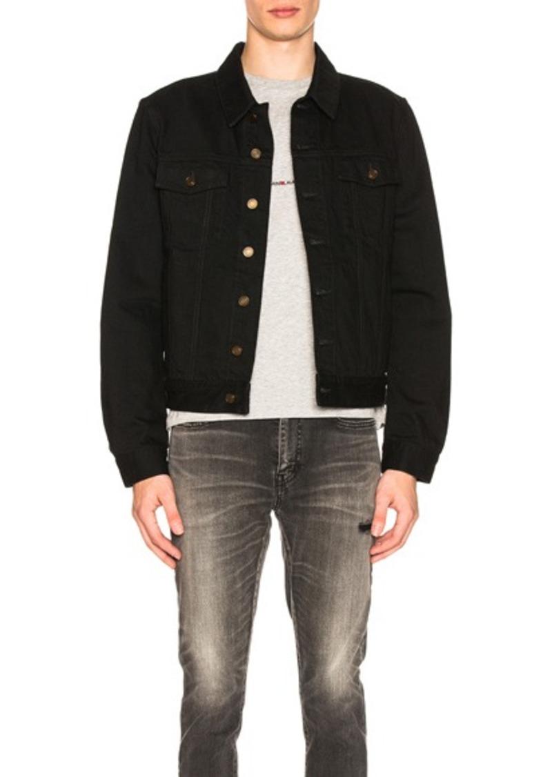 e2f07650 Saint Laurent Denim Jacket in Black