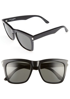 Saint Laurent Devon 55mm Sunglasses