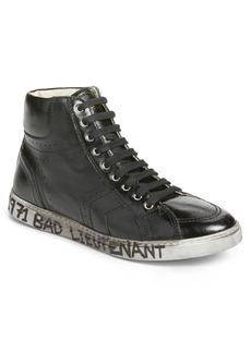 Yves Saint Laurent Saint Laurent Distressed Sneaker (Men)