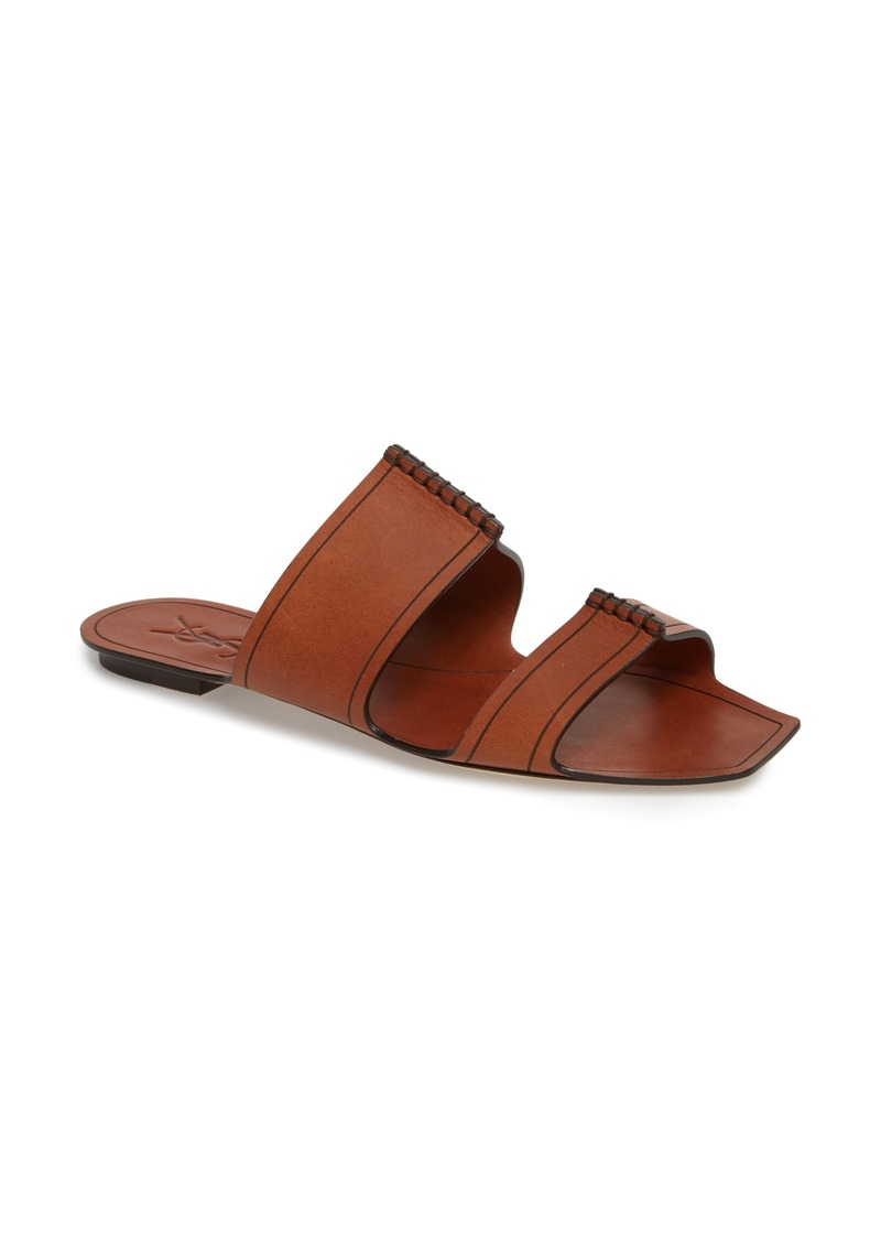 Saint LaurentDouble band sandals zwVPeWQ