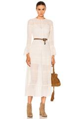 Saint Laurent Embroidered Dress