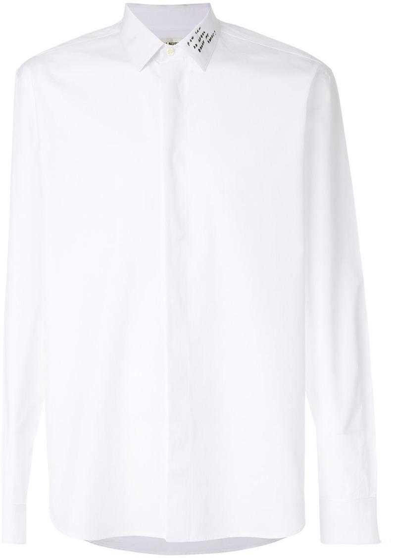 saint laurent white shirt