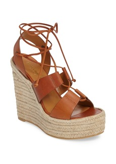 Yves Saint Laurent Saint Laurent Espadrille Platform Wedge (Women)