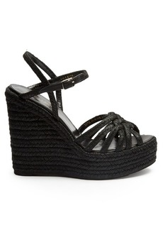 Saint Laurent Espadrille wedge sandals