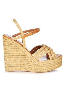 Yves Saint Laurent Saint Laurent Espadrille wedge sandals