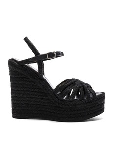 Yves Saint Laurent Saint Laurent Espadrille Wedges