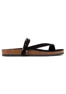 Yves Saint Laurent Saint Laurent Fabrice suede sandals