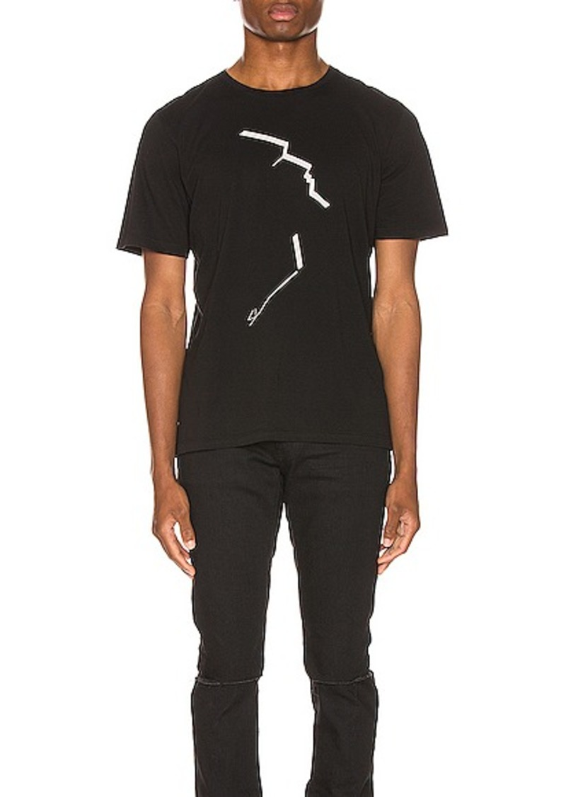 Yves Saint Laurent Saint Laurent Face Print Tee