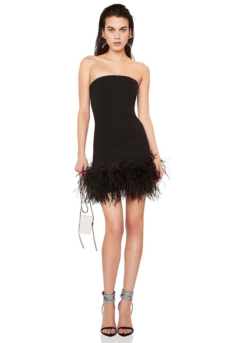 Strapless Crepe Dress
