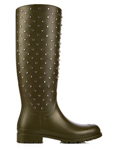 Saint Laurent Festival studded rubber boots