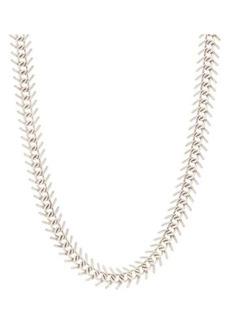 Yves Saint Laurent Saint Laurent Fishbone-chain necklace