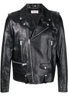 Yves Saint Laurent fitted biker jacket