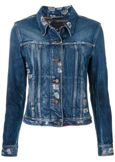 Yves Saint Laurent Saint Laurent fitted denim jacket - Blue