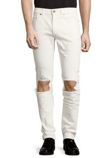 Yves Saint Laurent Five-Pocket Cotton Jeans