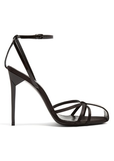 Saint Laurent Freja crystal-embellished sandals