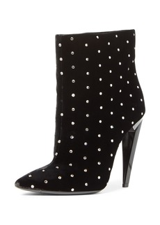 Yves Saint Laurent Saint Laurent Freja Embellished Broken Heel Bootie (Women)