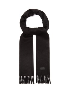 Yves Saint Laurent Saint Laurent Fringed cashmere scarf