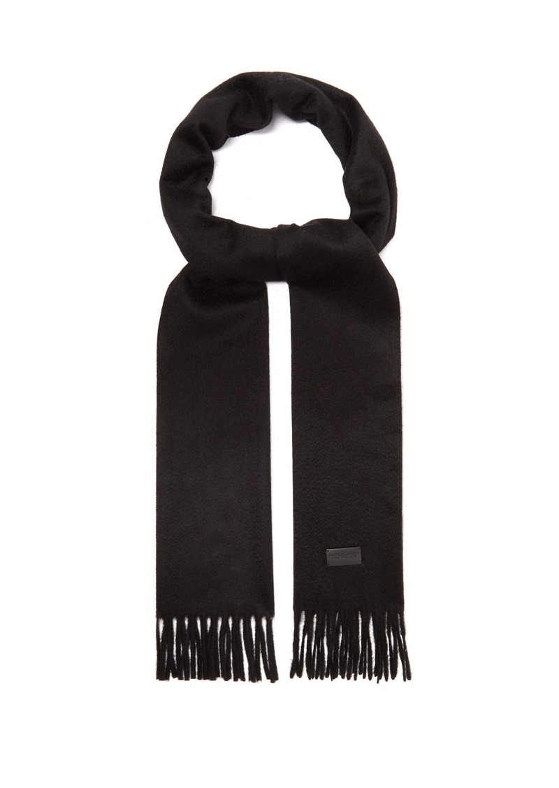 97621ed6cc8 Yves Saint Laurent Saint Laurent Fringed cashmere scarf | Misc ...