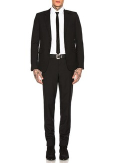 Yves Saint Laurent Saint Laurent Gabardine Suit