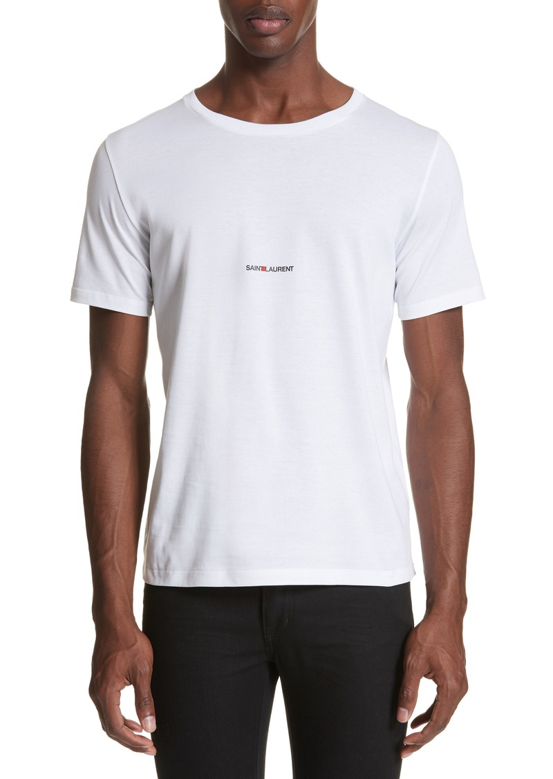 Yves Saint Laurent Saint Laurent Gauche Logo T-Shirt