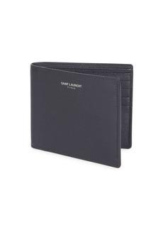 Yves Saint Laurent Grain Leather Wallet