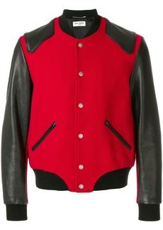 Yves Saint Laurent Heaven varsity jacket