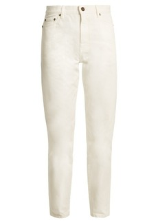 Yves Saint Laurent Saint Laurent High-rise straight-leg denim boyfriend jeans