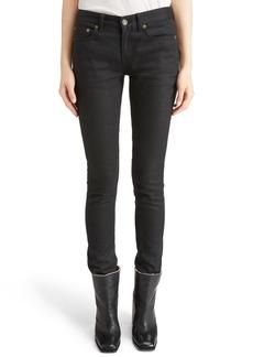 Yves Saint Laurent Saint Laurent High Waist Skinny Jeans