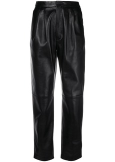 Saint Laurent high waist trousers - Black
