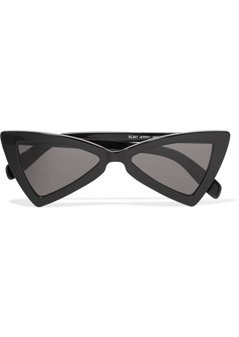 6e93841be6 Saint Laurent Saint Laurent Jerry cat-eye acetate sunglasses ...