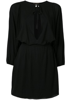 Saint Laurent key-hole mini dress