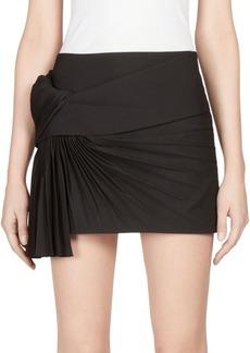 Yves Saint Laurent Knit Jacquard Skirt