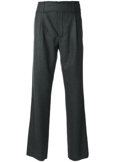 Yves Saint Laurent Saint Laurent knitted tailored trousers - Grey