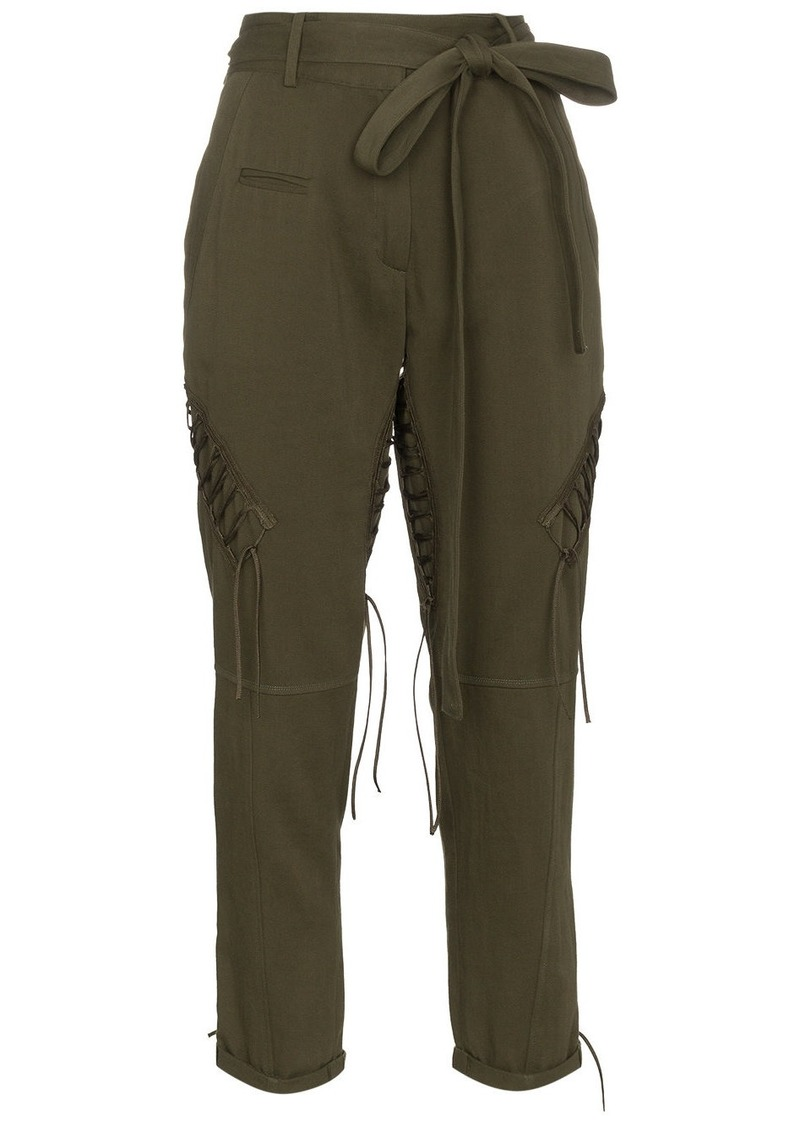 Saint Laurent Laced Military Pants