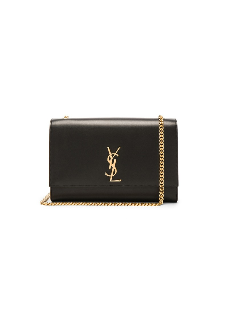 Saint Laurent Saint Laurent Large Boston Laquer Monogramme Kate ... 8422413455805