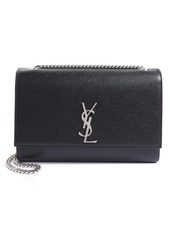 Saint Laurent Large Kate Textured Leather Crossbody Bag