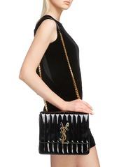 7a0d4f403716 Saint Laurent Saint Laurent Large Vicky Patent Leather Crossbody Bag ...