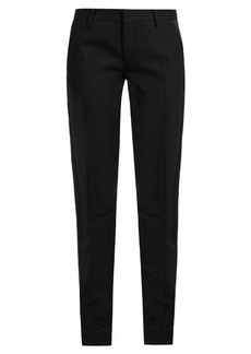 Saint Laurent Le Smoking skinny wool trousers
