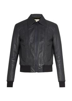 Yves Saint Laurent Saint Laurent Leather bomber jacket