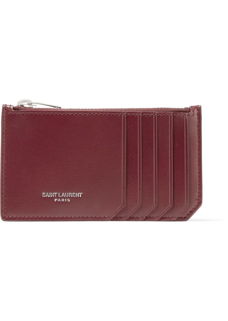 Saint Laurent Saint Laurent Leather cardholder  a919acbf65