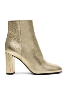 Saint Laurent Leather Loulou Boots