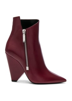 Yves Saint Laurent Saint Laurent Leather Niki Booties